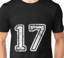 Sport Team Jersey 17 T Shirt Football Soccer Baseball Hockey Double Basketball Seven One 1 7 Seventeen Seven Teen Unisex T-Shirt