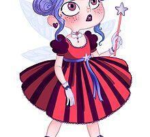 La petite fée gothique by princessebarbar