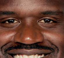"""Shaquille O'Neal - """"What a head"""" Sticker"""