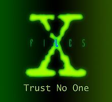 X Files iPhone Case by Brian Varcas