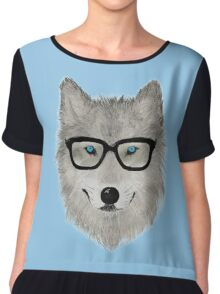 Wild Animal with Glasses - V02 Chiffon Top