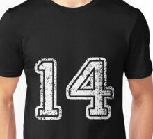 Sport Team Jersey 14 T Shirt Football Soccer Baseball Hockey Double Basketball One Four 14 1 4 Four Teen Fourteen Unisex T-Shirt