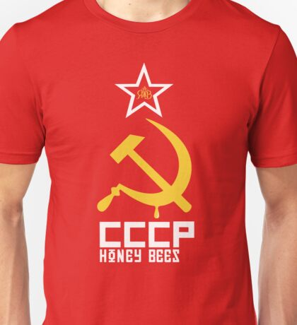 CCCP Honey Bees / Russian Honey Bees Unisex T-Shirt