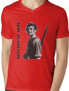 Republican Army Mens V-Neck T-Shirt