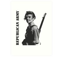 Republican Army Art Print