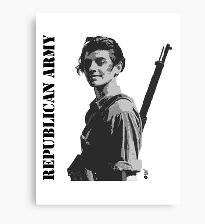 Republican Army Canvas Print