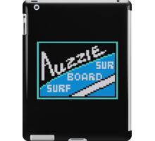 AUZZIE SURF BOARD - CALIFORNIA GAMES SPONSOR iPad Case/Skin