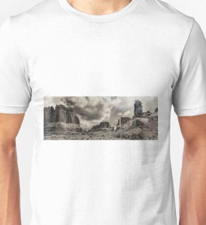 Moab - Retro panorama Unisex T-Shirt