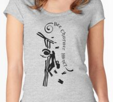 Bee Charmer Honey Women's Fitted Scoop T-Shirt