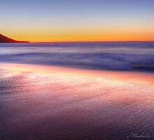 red dusk by michelle robertson