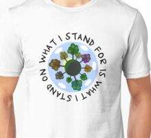 Planet Earth Beautiful Inspirational Nature Quote Unisex T-Shirt