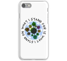 Planet Earth Beautiful Inspirational Nature Quote iPhone Case/Skin