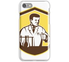 Scientist Lab Researcher Chemist Shield Retro iPhone Case/Skin
