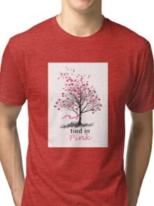 Tied in Pink Anthology merchandise Tee Shirts Tri-blend T-Shirt