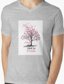 Tied in Pink Anthology merchandise Tee Shirts Mens V-Neck T-Shirt