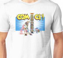 The Comic Book Spinner Rack Unisex T-Shirt