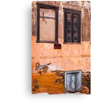 Empty window Canvas Print
