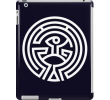 The Maze - White iPad Case/Skin
