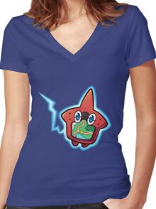 Rotodex Women's Fitted V-Neck T-Shirt