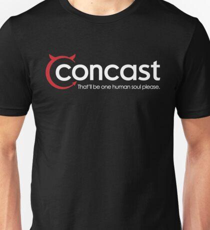 Concast Cable Unisex T-Shirt
