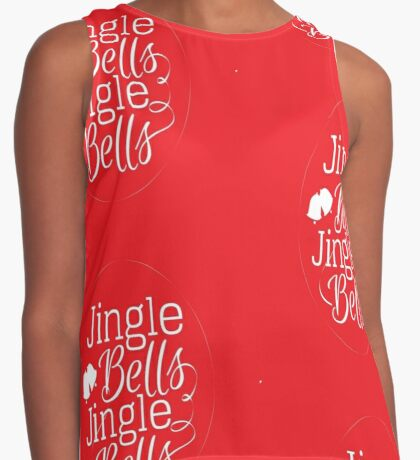 Carol Merch - Jingle Bells Contrast Tank