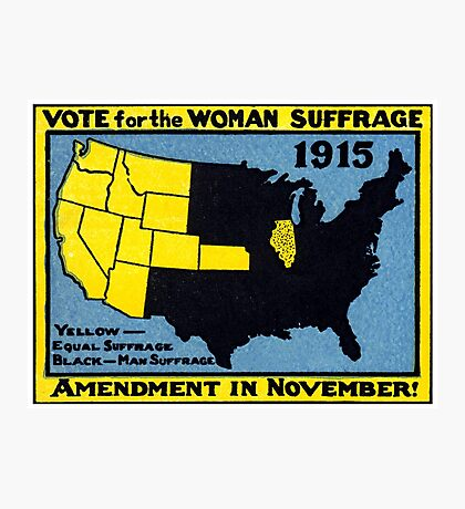 1915 Votes for American Women Photographic Print