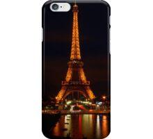 Eiffel Reflections & Light Trails iPhone Case/Skin