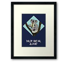 Drop Bears Preservation Society Framed Print