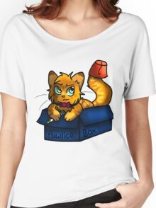 Doctor Mew's Pawlice Box Women's Relaxed Fit T-Shirt