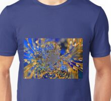 Blue and Gold Unisex T-Shirt