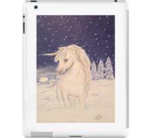 Winter unicorn iPad Case/Skin