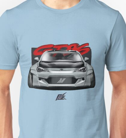 naquash design toyota gt86 subaru brz scion frs with wide body  Unisex T-Shirt