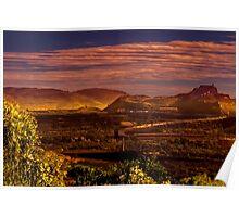Iron Ore Mine, Mt Whaleback, Newman Poster