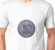 Moon Face Unisex T-Shirt