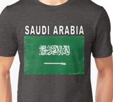 Saudi Arabia National Flag Soccer Design Unisex T-Shirt