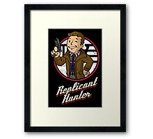 Replicant Hunter Framed Print