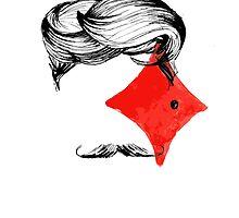 Mustache by annegare