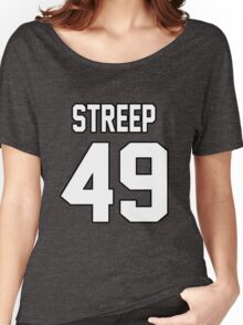 Merly Streep Women's Relaxed Fit T-Shirt