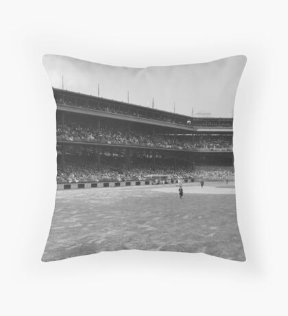 Forbes Field 1910 Throw Pillow