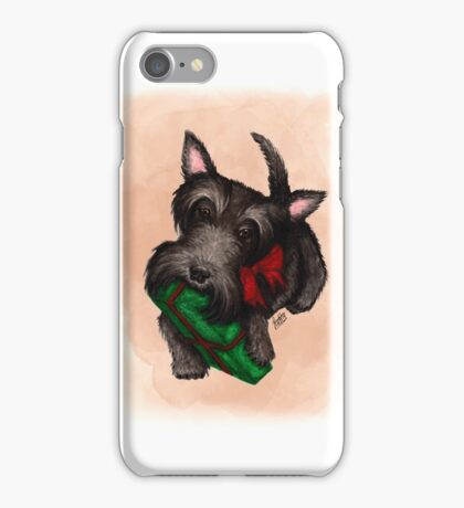 A gift for Scottie iPhone Case/Skin