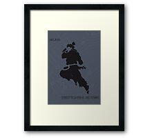 Akuma Framed Print