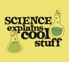 Science explains cool stuff One Piece - Short Sleeve