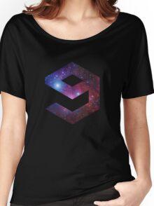 9gag Galaxy logo Women's Relaxed Fit T-Shirt