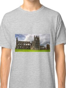 The remains of Whitby Abbey Classic T-Shirt