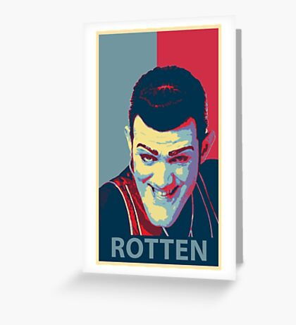 Robbie Rotten Greeting Card