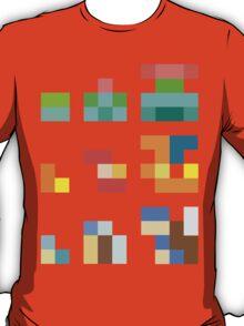 Minimalist Pokemon starters T-Shirt