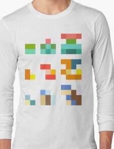 Minimalist Pokemon starters Long Sleeve T-Shirt