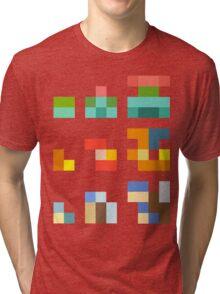 Minimalist Pokemon starters Tri-blend T-Shirt