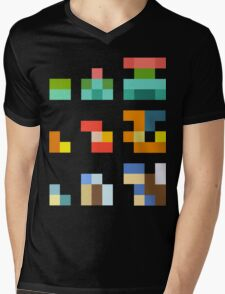 Minimalist Pokemon starters Mens V-Neck T-Shirt