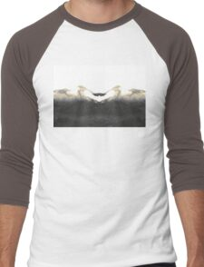 The Mountains Call  Men's Baseball ¾ T-Shirt